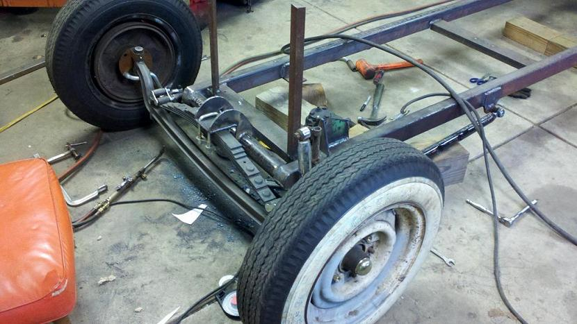 Old Tin Rods | Midwest Source for Rat Rod Parts, Suspension & Frames